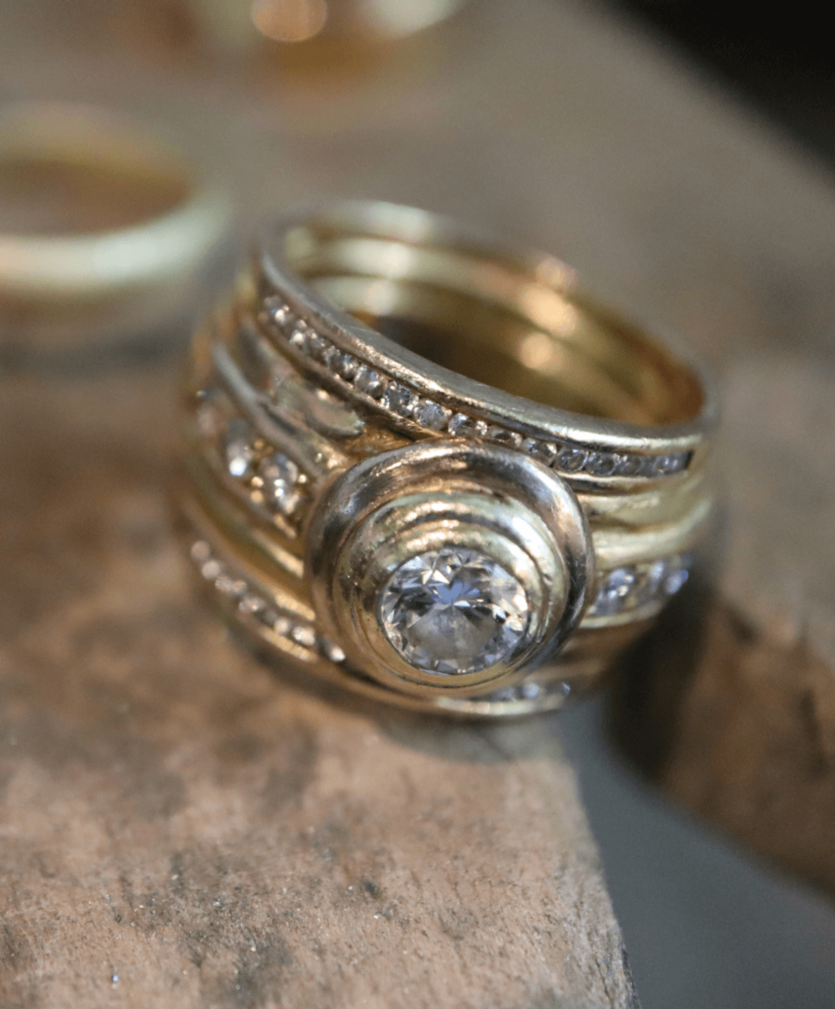 Ring mit Brillanten